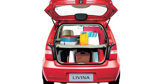 Kapasitas Bagasi Nissan New Livina XR 2010