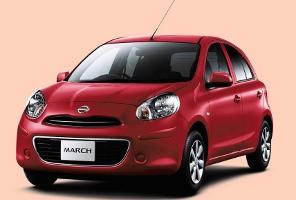 Nissan March - Merah