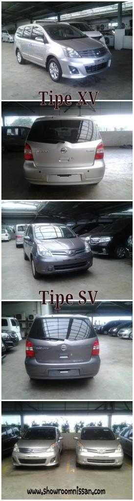 Nissan Grand Livina SV - Grey