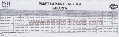 Promo Paket Kredit Datsun GO Plus Panca 2014