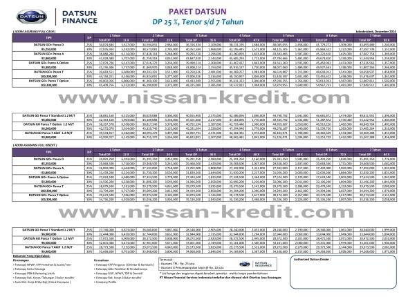 KREDIT DATSUN GO 2015 JAKARTA