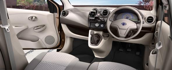 Interior Datsun Go+ Tipe T Standar