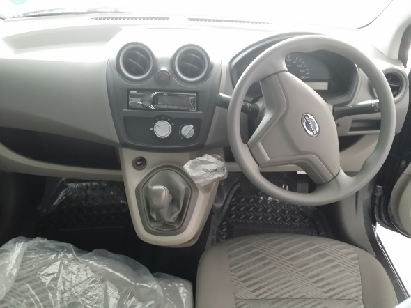 DASHBOARD SETIR AUDIO DATSUN GO+ T OPTION
