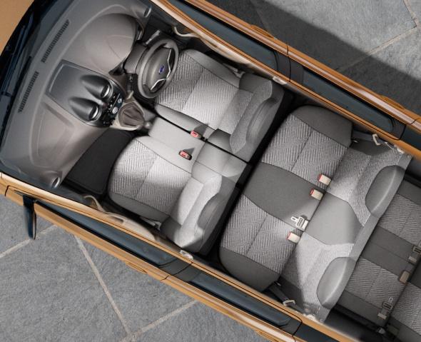 Kursi Datsun Go+ 3 Baris