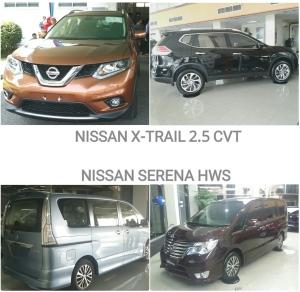 Kredit Nissan Serena Xtrail DP Ringan